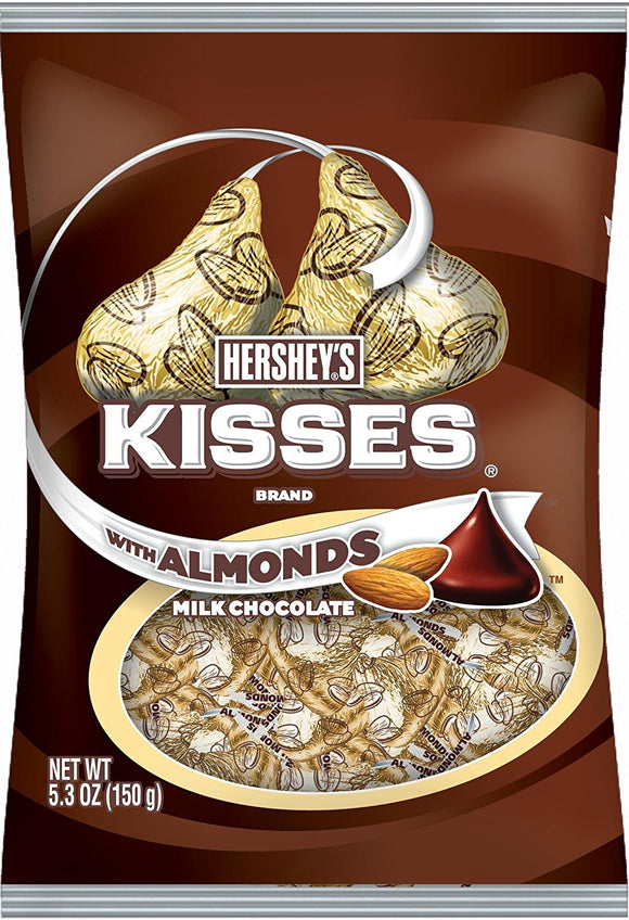 HERSHEY'S Kisses, Almond 12/150 gm