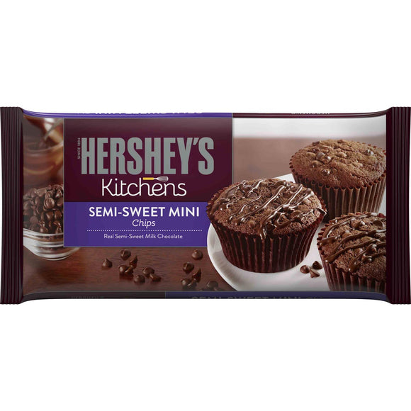 HERSHEY'S Mini Chocolate Chips 12/12 oz