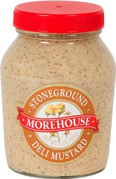 MOREHOUSE Stoneground Mustard, 12/8 oz