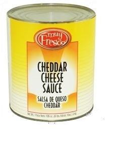 MUY FRESCO Cheddar Cheese Sauce 6/#10 tin