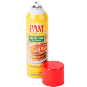 PAM High Yield Canola Pan Spray 6/17 oz