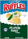 RUFFLES Potato Chips, Jalapeno Ranch 15/6.5 oz