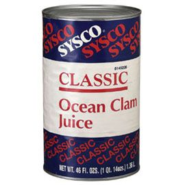 SYSCO Ocean Clam Juice 12/46 oz