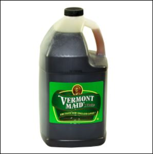 VERMONT MAID Maple Syrup 4/1 gal