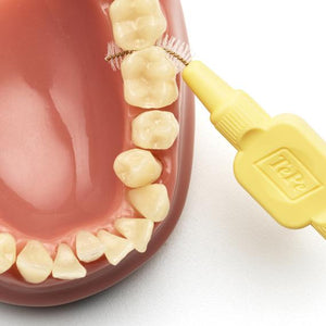 Cepillo Interdental TePe Soft Amarillo Cepillado