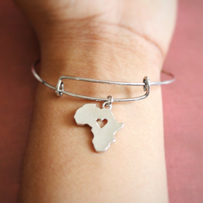 Africa Charm Bracelet - Love My Character