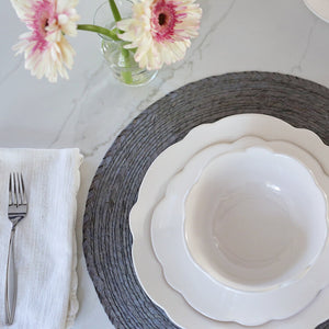 Scallop Melamine | City Mercantile