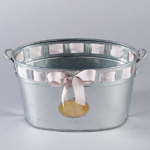 Galvanized Cut Out Tub | City Mercantile