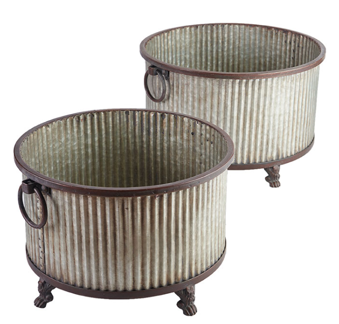 Galvanized Container | City Mercantile