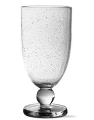 Bubble Glass Tall Goblet | City Mercantile