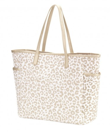 Natural Leopard Tote | City Mercantile