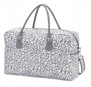 Smokey Leopard Travel Bag | City Mercantile