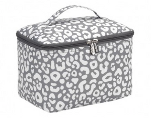 Smokey Leopard Cosmetic Bag | City Mercantile