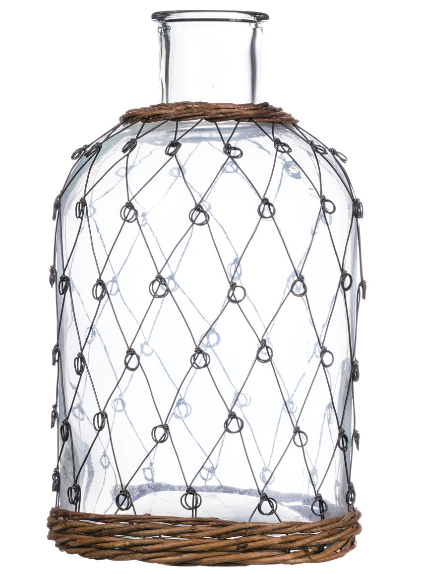 Wire Pattern Bottle | City Mercantile