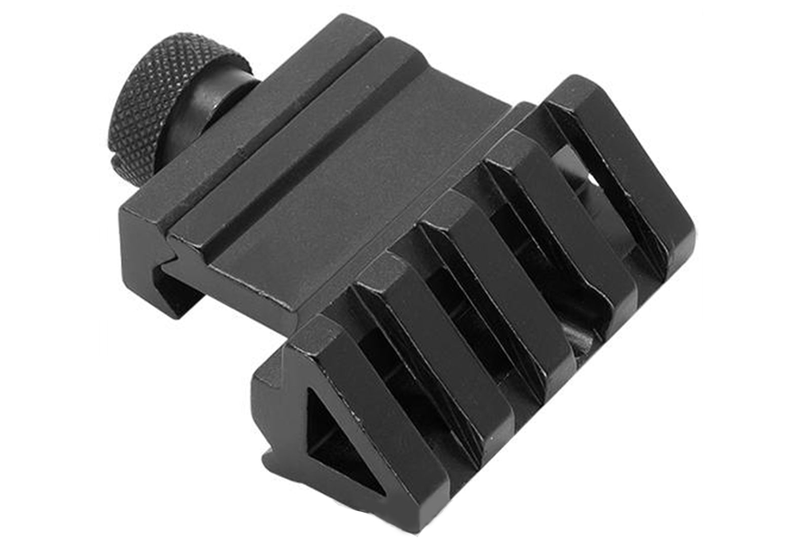 45 Degree Offset Rail Mount with QD Weaver Style Attachment