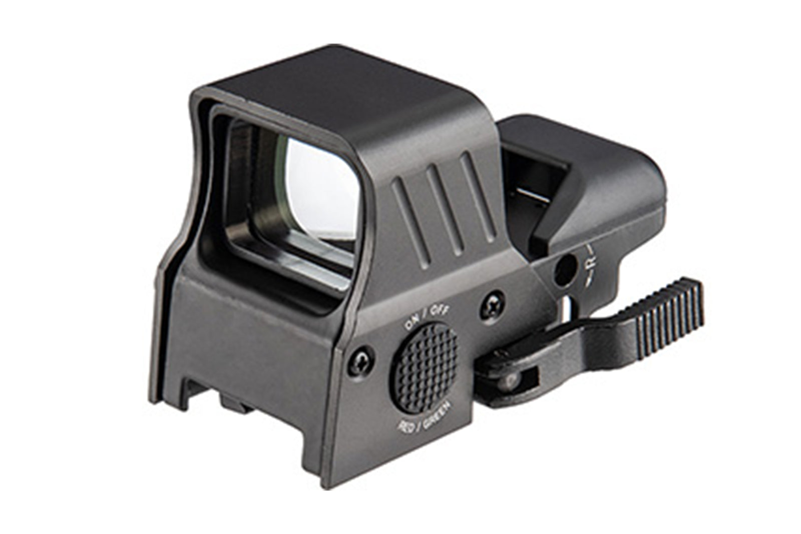 Lancer Tactical - 4 Reticle Red/Green Dot Reflex Sight w/ QD Mount - Black