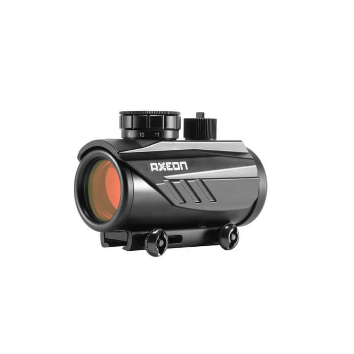 AXEON OPTICS 1XRDS 1X30 RED DOT SIGHT 11 BRIGHTNESS SETTINGS