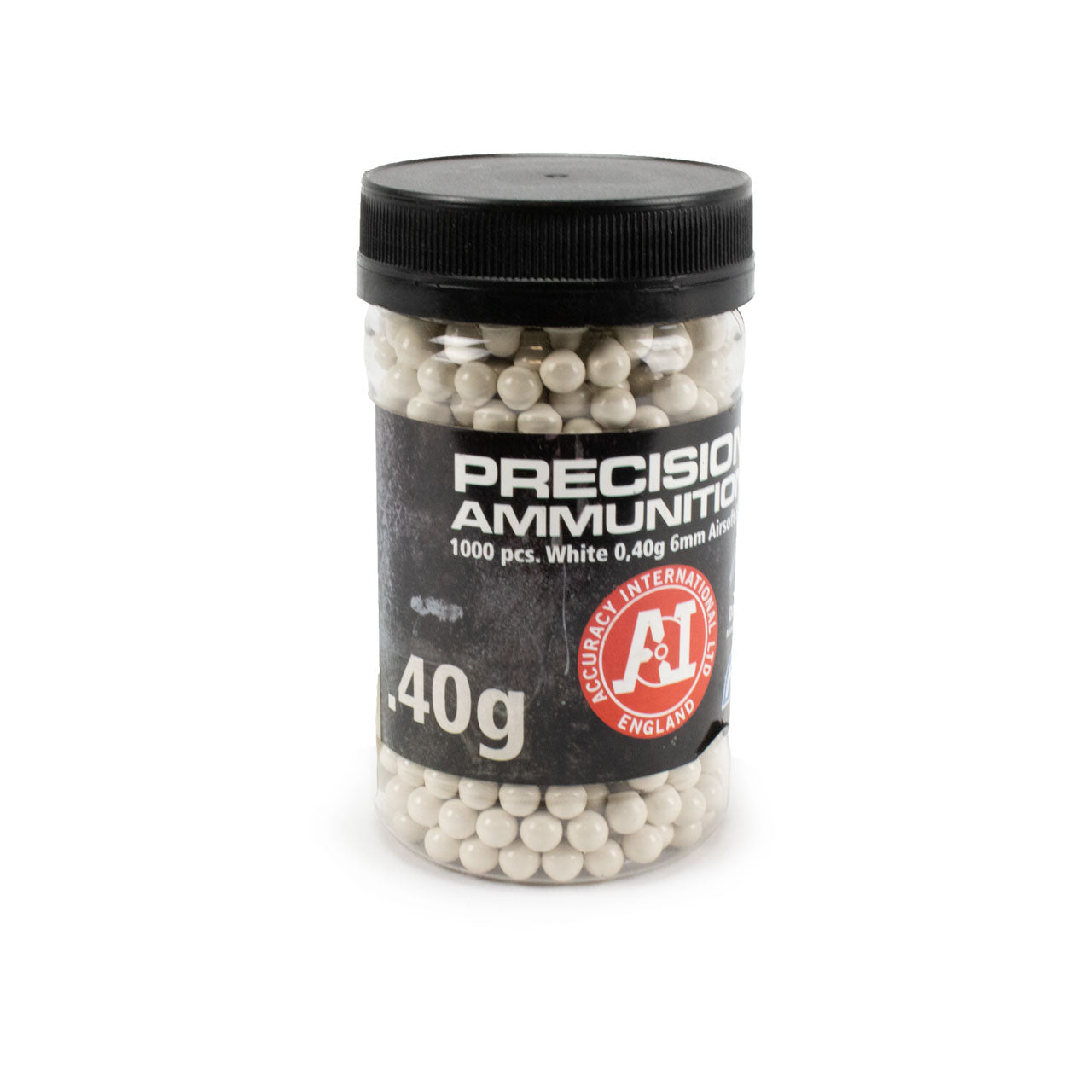ASG Precision .40 6mm Airsoft BBs - White (1000 rounds)