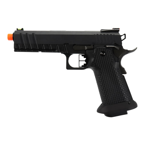 "AW Custom ""Competitor"" Hi-CAPA Gas Blowback Airsoft Pistol Two Tone"