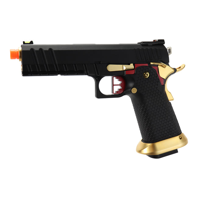 "AW Custom ""Competitor"" Hi-Capa Gas Blowback Airsoft Pistol"