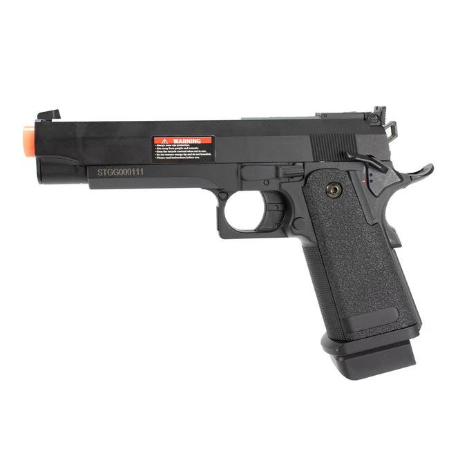CYMA Advanced Hi-Capa Airsoft AEP Electric Handgun Package