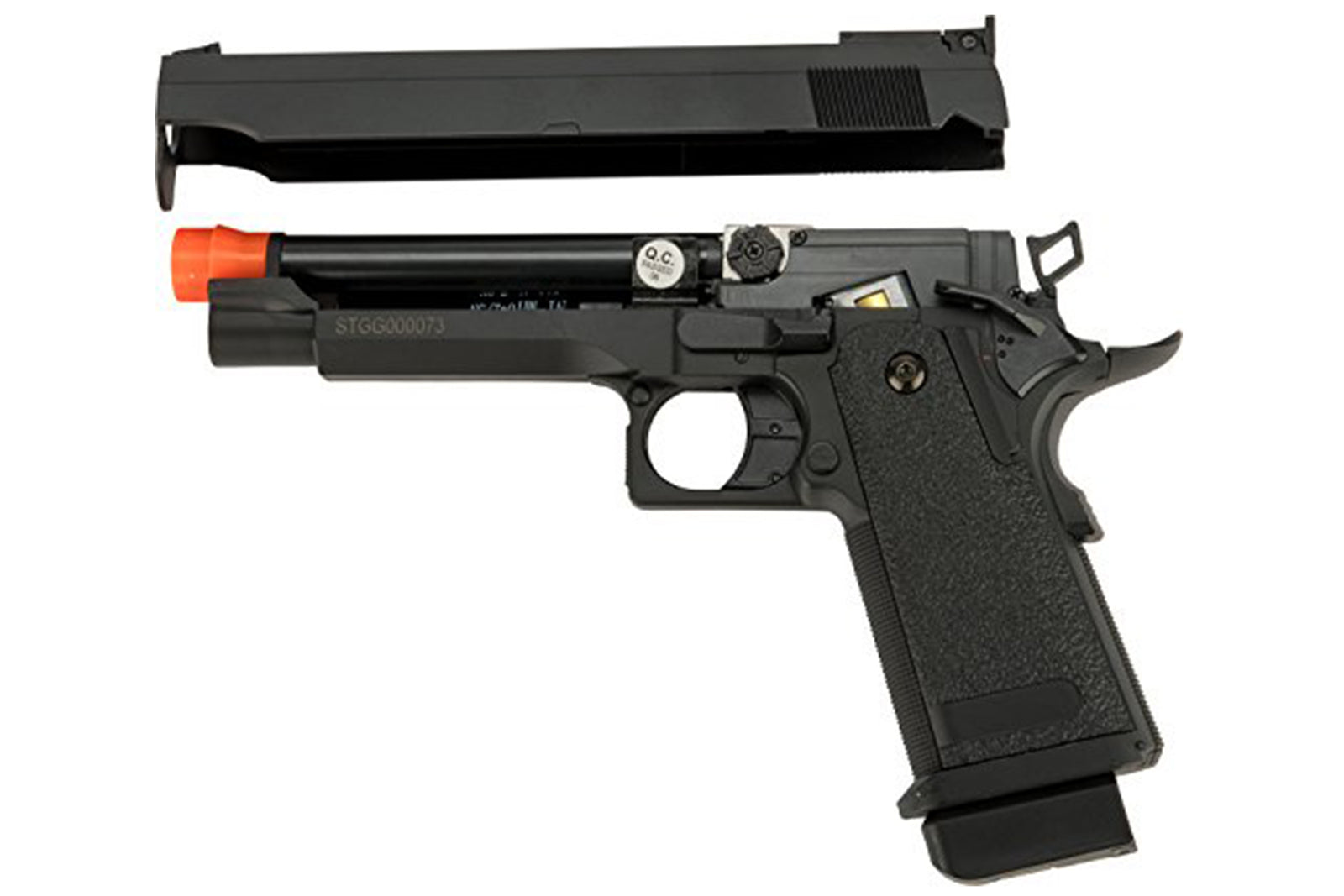 CYMA Advanced Hi-Capa Airsoft AEP Handgun Package