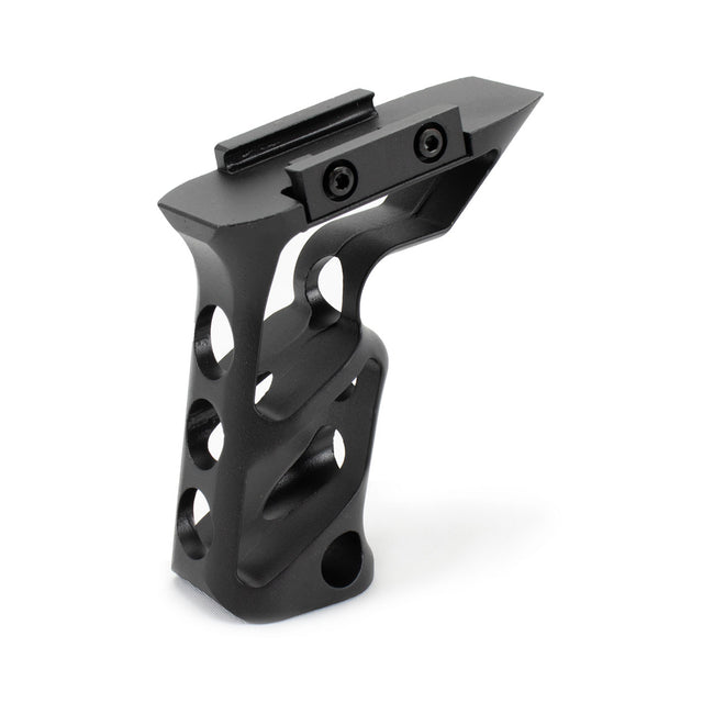 CNC Machined Billet Aluminum Long Vertical Picatinny Mounted Grip