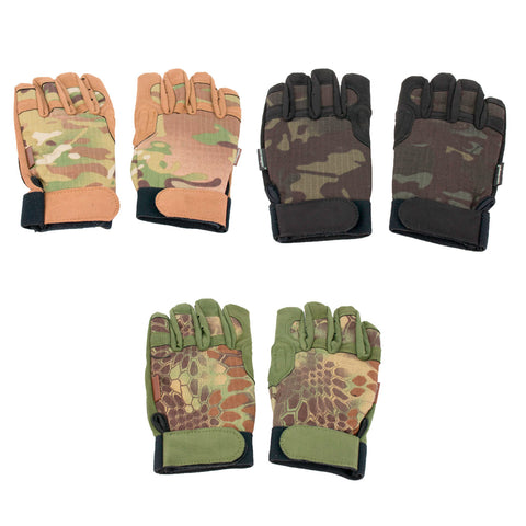 Tactical Outdoor Airsoft Army Military Shooting Gear Full Finger Gloves