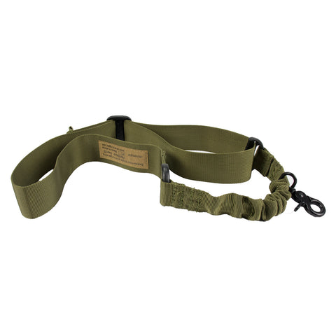 Nylon ONE-POINT Bungee Rifle Sling / O Shape (TAN)