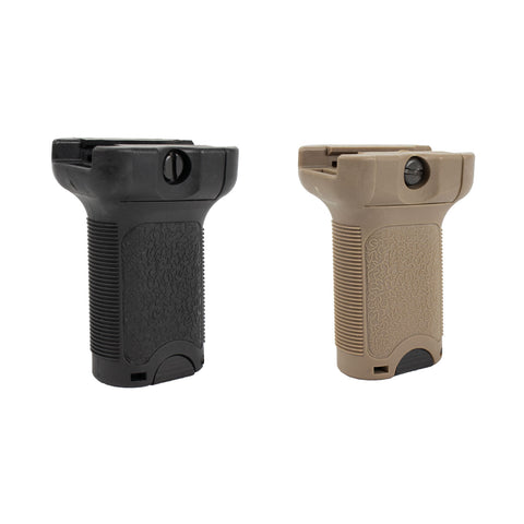 FMA Airsoft Angled Grip for Keymod Rail Systems