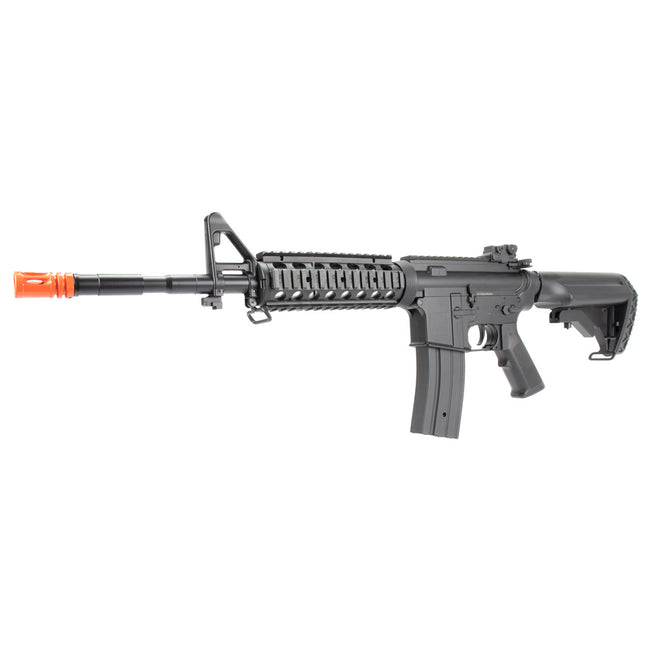GE / JG M4 SOPMOD RIS Airsoft AEG Rifle with Rail Covers w/ Battery and Charger