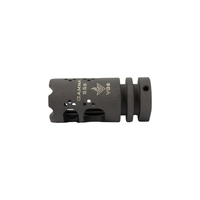 Gamma VG6 Tactical Airsoft Mock Steel Flash Hider -14mm