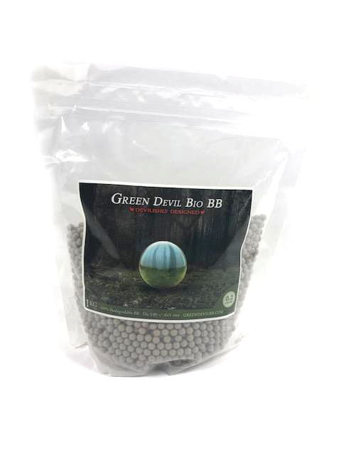 Green Devil High Precision Airsoft Bio BB 0.20g 1kg bag - 5000 ct