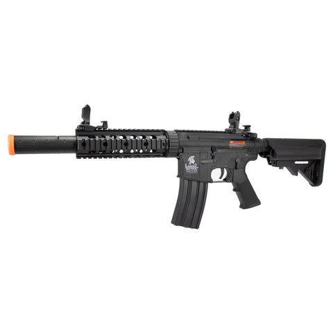 "Lancer Tactical - LT-15CB-G2 POLYMER M4 GEN 2 SD AEG AIRSOFT RIFLE 15.5"" - Black"