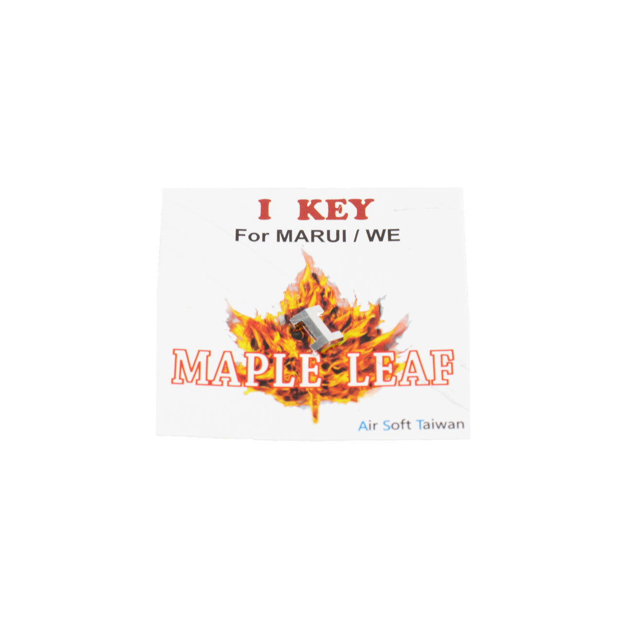 Maple Leaf I Key for Tokyo Marui / WE Model 17, 18, 19 Hop Up Airsoft GBB