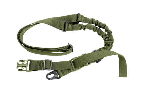 Tactical Pistol Lanyard Sling Elastic Handgun Secure Spring Retention Rope