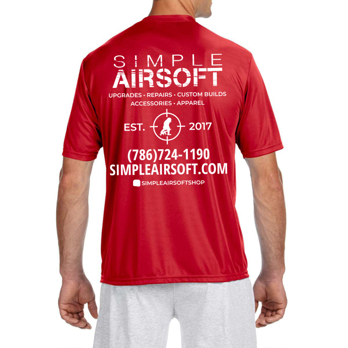 Simple Airsoft T-Shirt