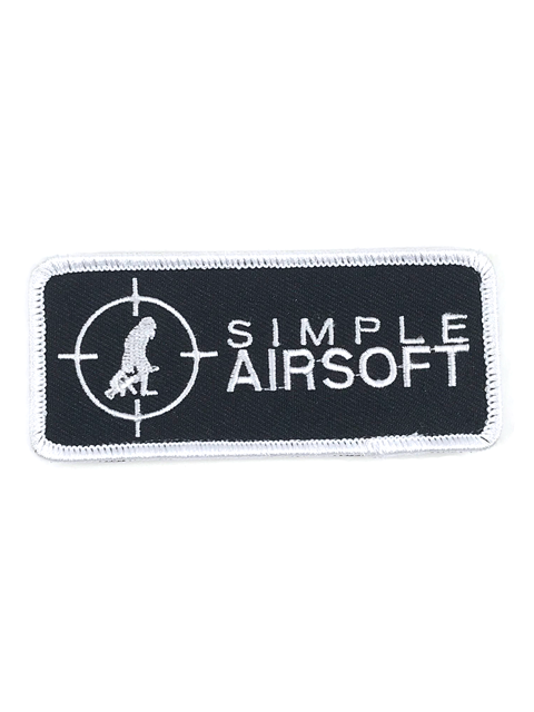 "Simple Airsoft 4"" x 1.5"" Patch"