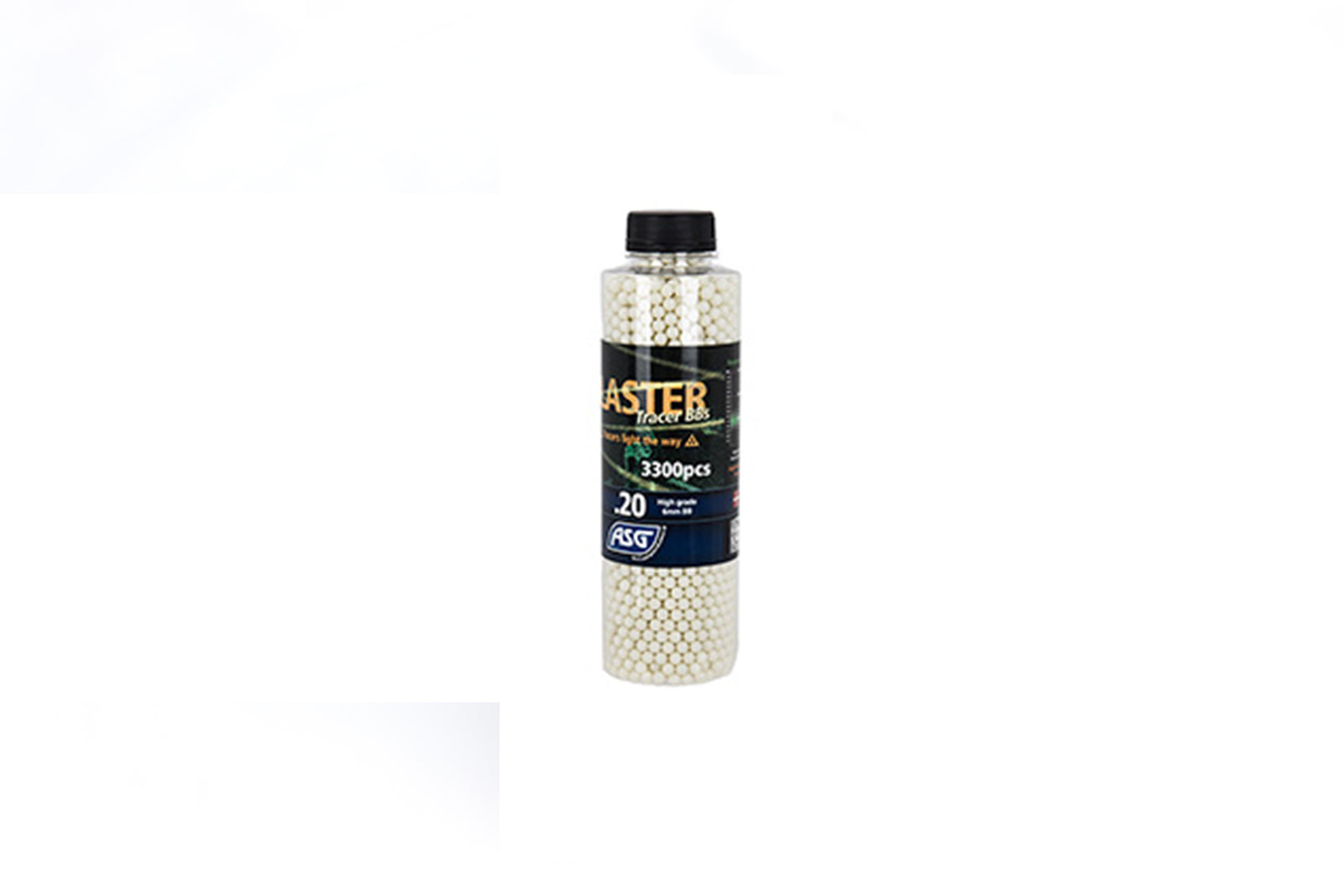 ASG Blaster Tracer Airsoft BBs Bottle [3,300 Rounds]