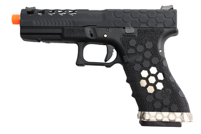 AW Custom VX Series Hex-Cut Gas Blowback Airsoft Pistol