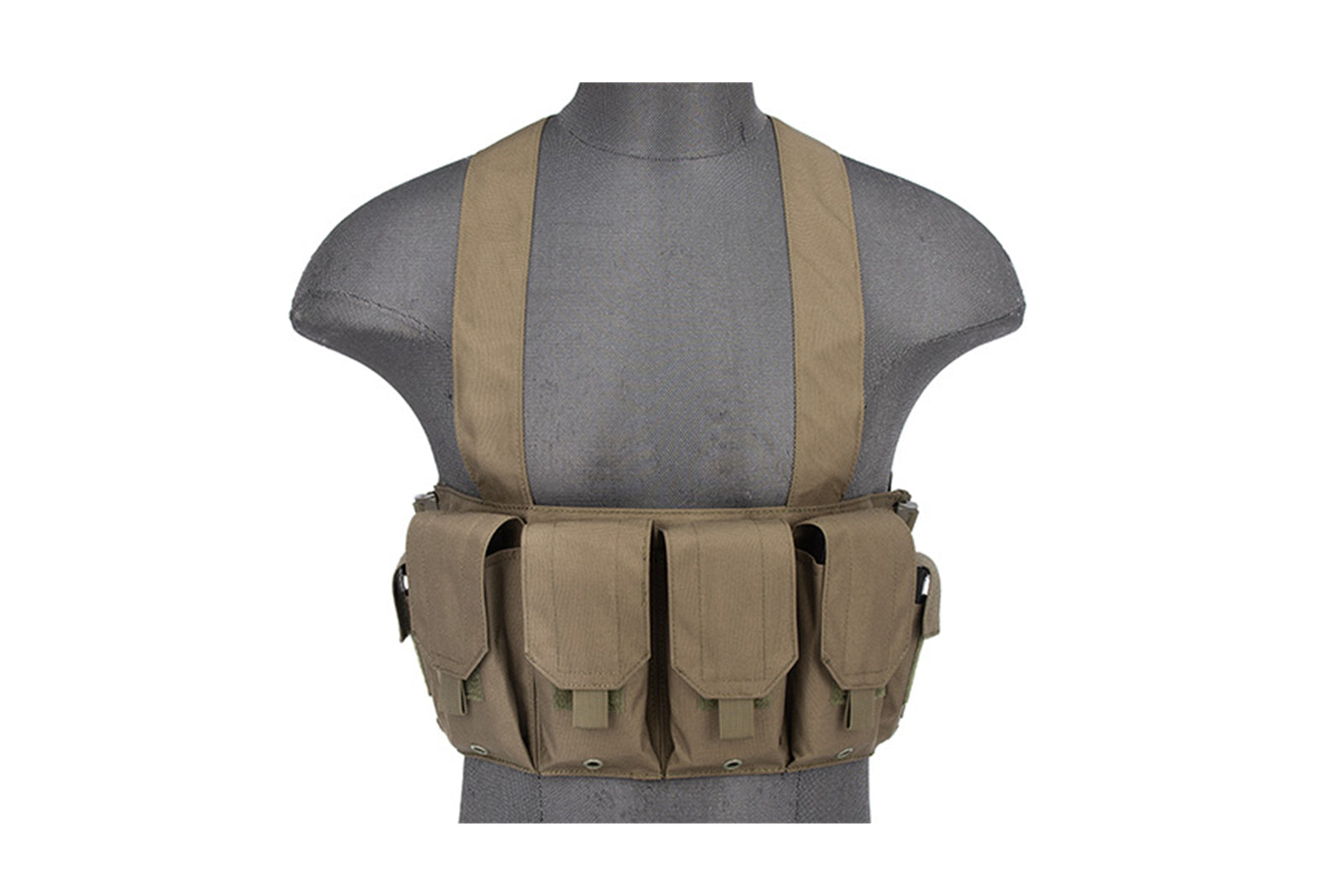 Rugged Tactical Chest Rig w/ 6X Magazine Pouches 1000D