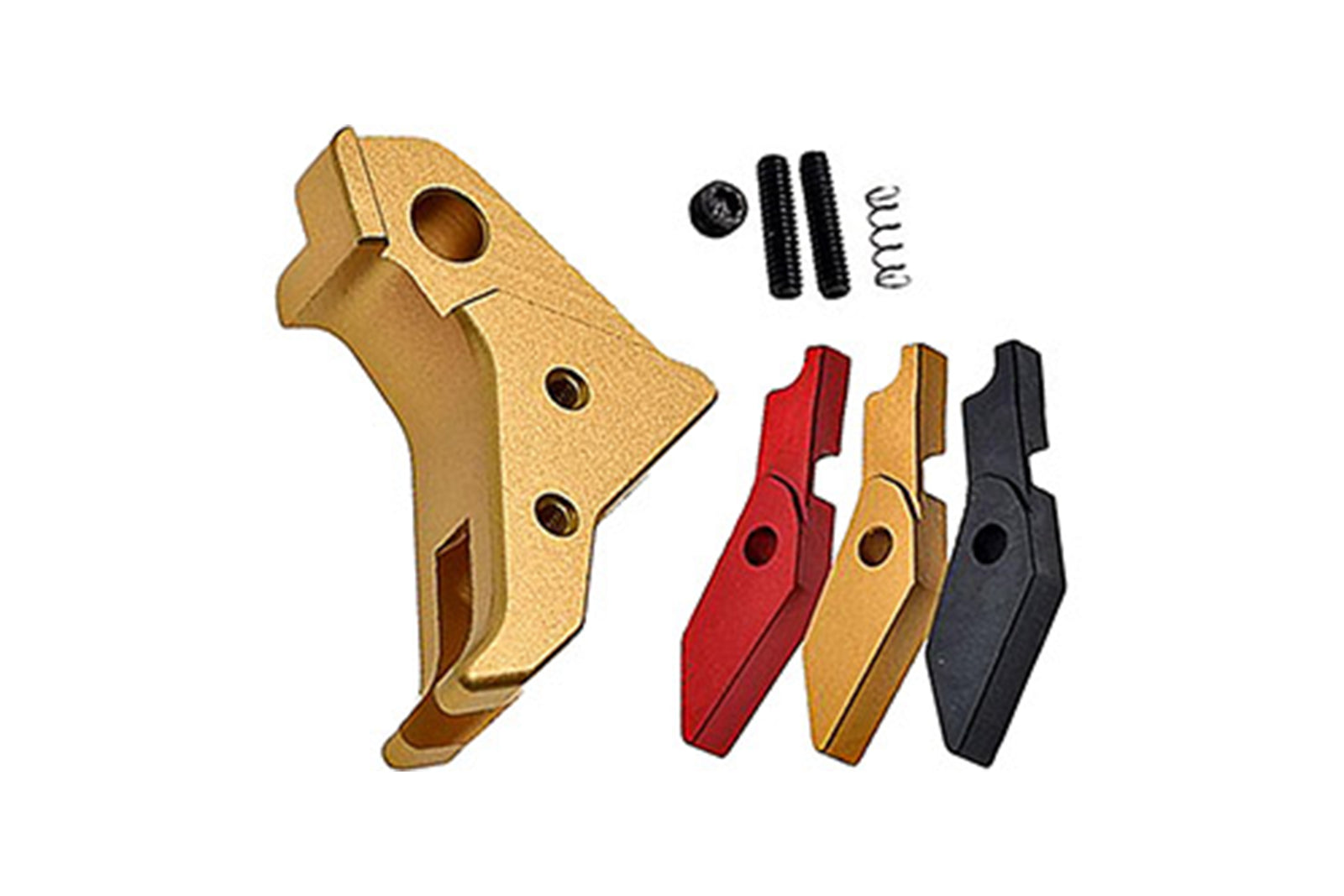 COWCOW Tactical G-Series Pistol Trigger - Gold