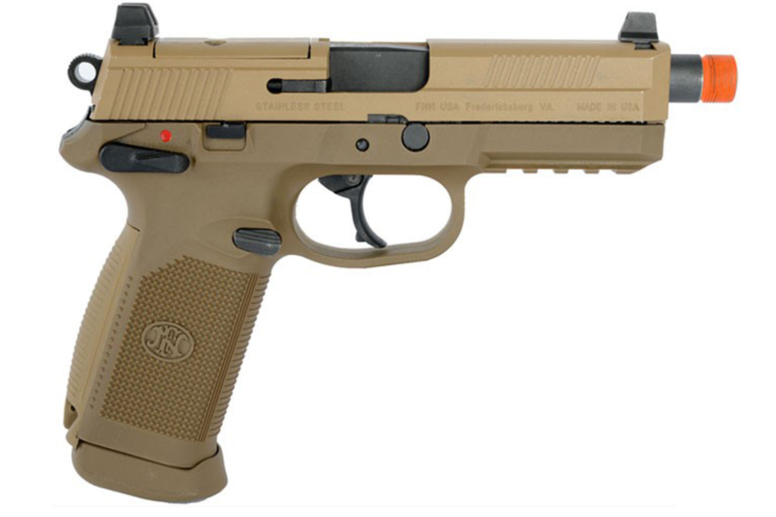 Cybergun FN Herstal Licensed FNX-45 Tactical Airsoft GBB Pistol by VFC w/ EXTRA mag