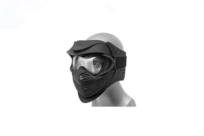 Lancer Tactical Airsoft Safety Full Face Mask with Double Pane Lens
