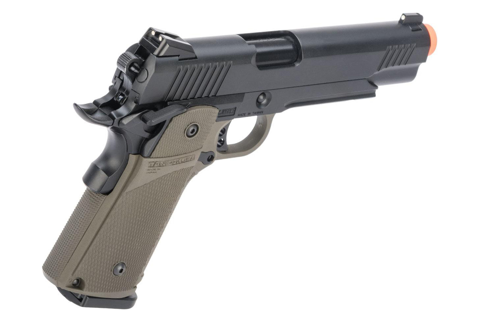 KJW Full Metal Custom 1911 Tactical HI-CAPA Gas Blowback - 614