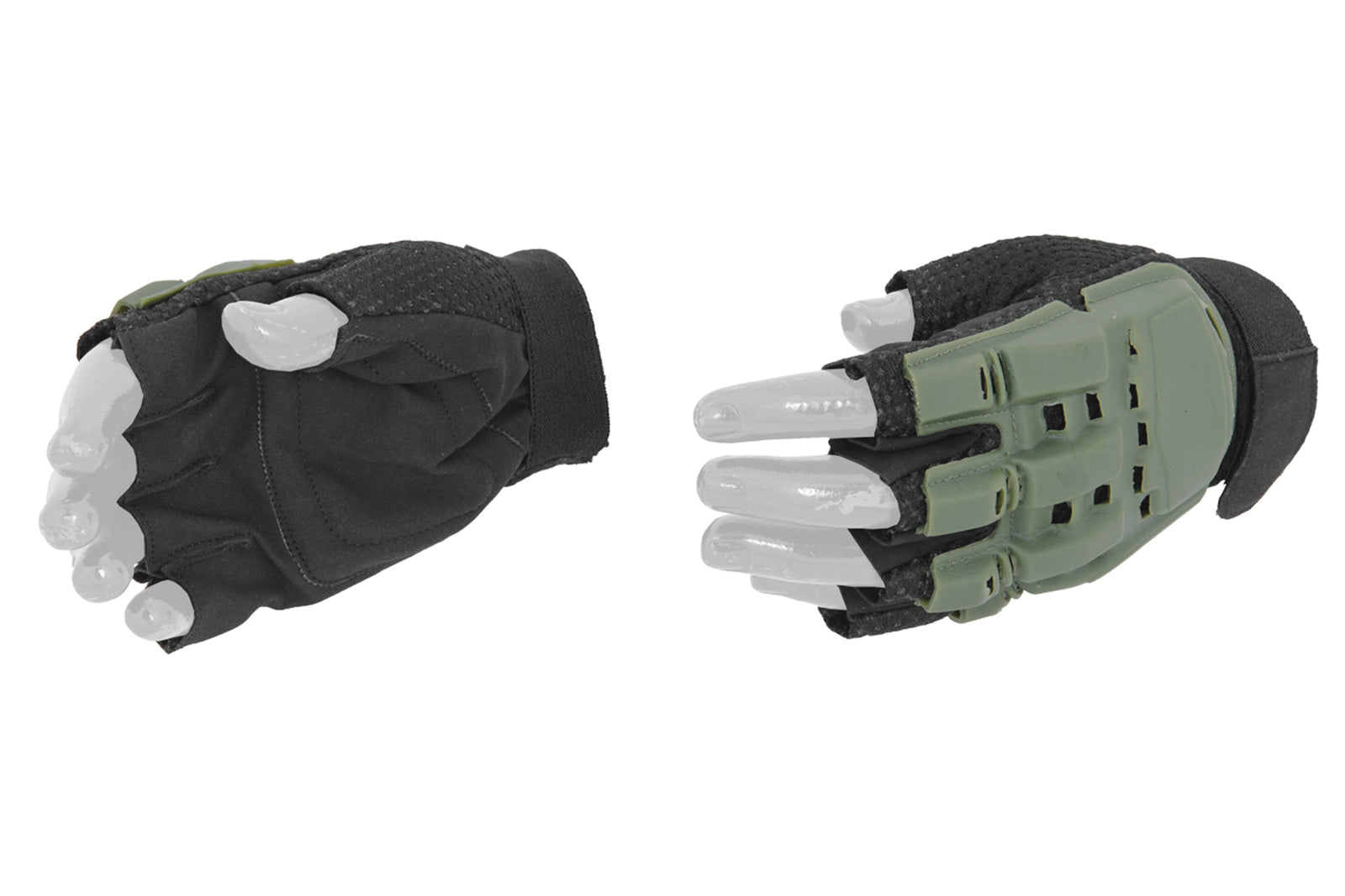 Airsoft Glove Half Finger