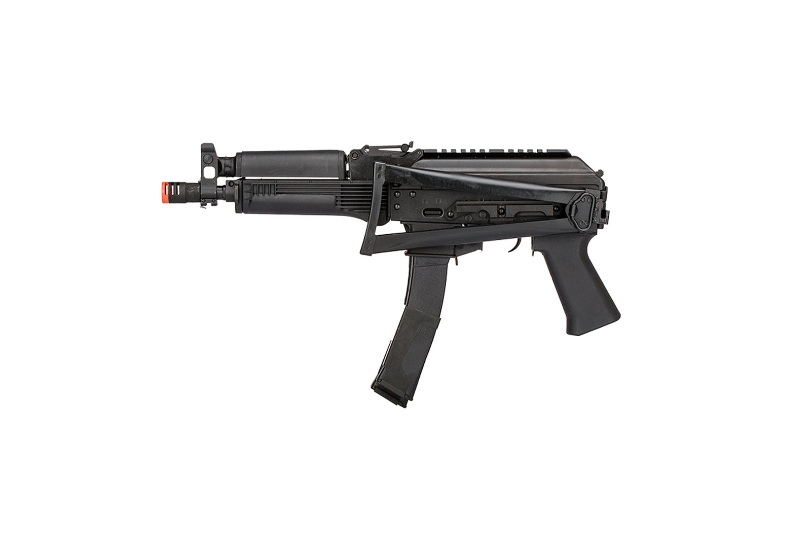 LCT VITYAZ STEEL PP-19-01 AEG AIRSOFT SUBMACHINE GUN - BLACK