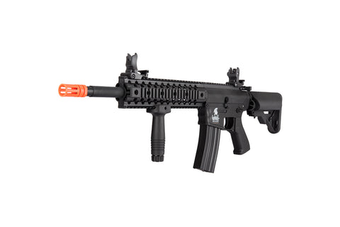 "LT-200TCL WARLORD 8"" INCH TYPE C METAL AEG AIRSOFT SMG, LOW FPS VERSION"