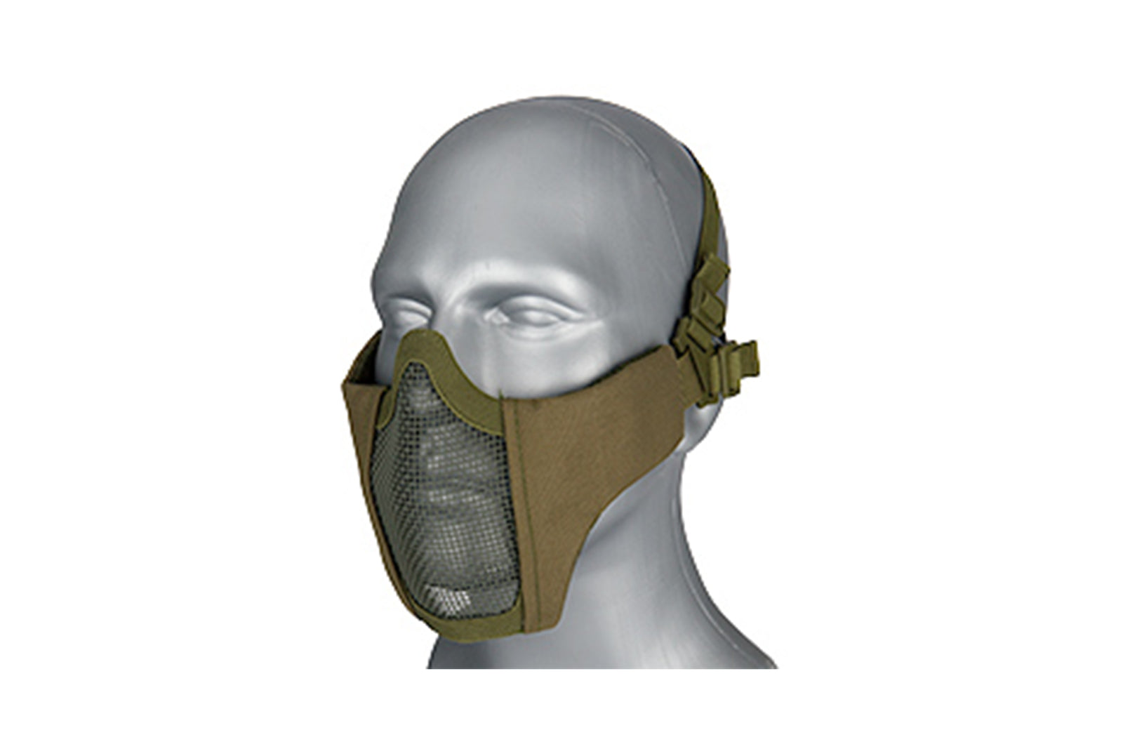 Lancer Tactical Low Profile Iron Face Padded Lower Half Face Mask