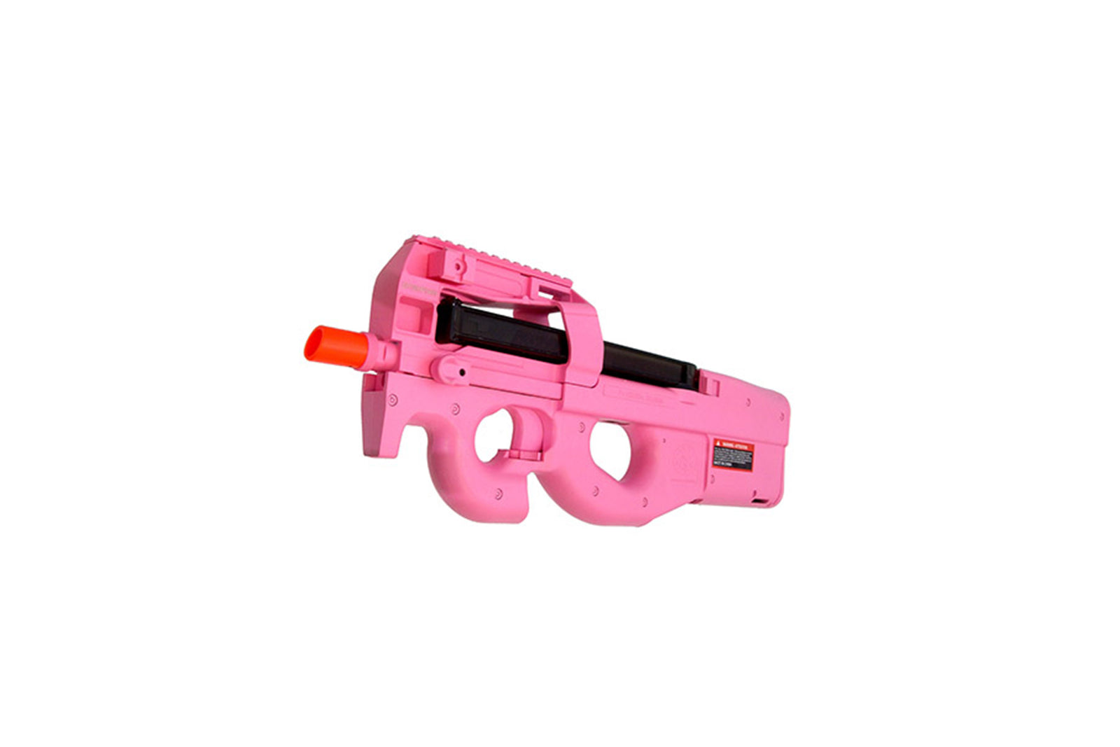 FN Herstal Licensed P90 Full Size Metal Gearbox Airsoft AEG (Color: Pink / Gun Only)